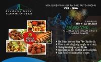 Bữa tiệc buffet lãng mạn tại khách sạn Academy ngày Quốc Khánh 2-9